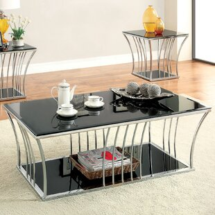Villaine 2 Piece Coffee Table Set by Hokku Designs Best