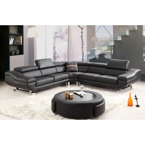 Reclining Sectional by Best Quality Furniture