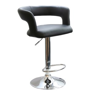 Thy Adjustable Height Swivel Bar Stool