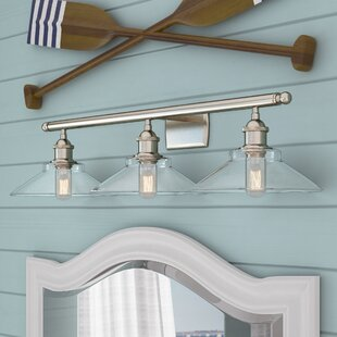 Beachcrest Home Nash 3-Light Vanity Light