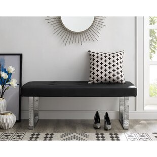 Affordable Lord Faux Leather Bench By Orren Ellis