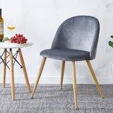 Carty Velvet Upholstered Side Chair (Set of 2) by Everly Quinn