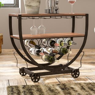 Jianglin 10 Bottle Floor Wine Rack by 17 ..