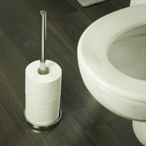 tiger toilet roll holder