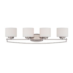 Latitude Run Bergen 4-Light Vanity Light