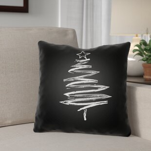 Trim the Tree Indoor/Outdoor Throw Pillow