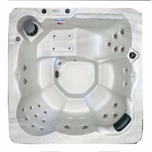 6-Person 29-Jet Plug And Play Hot Tub With Stainless Jets And Underwater LED Light By Hudson Bay Spas