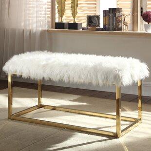 Everly Quinn Bostrom Upholstered Bench
