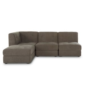 Alecia 4 Piece Modular Sectional