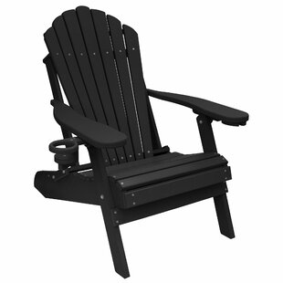Haines Poly Lumber Plastic Folding Adirondack Chair By August Grove