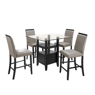 Stukes 5 Pieces Dining Set by Red Barrel ..