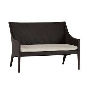 Athena Euro Patio Sofa with Cushions