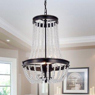 Adalwin Vase 3-Light Empire Chandelier by House of Hampton