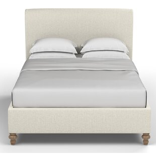 Canora Grey Audley Scroll Upholstered Sleigh Bed
