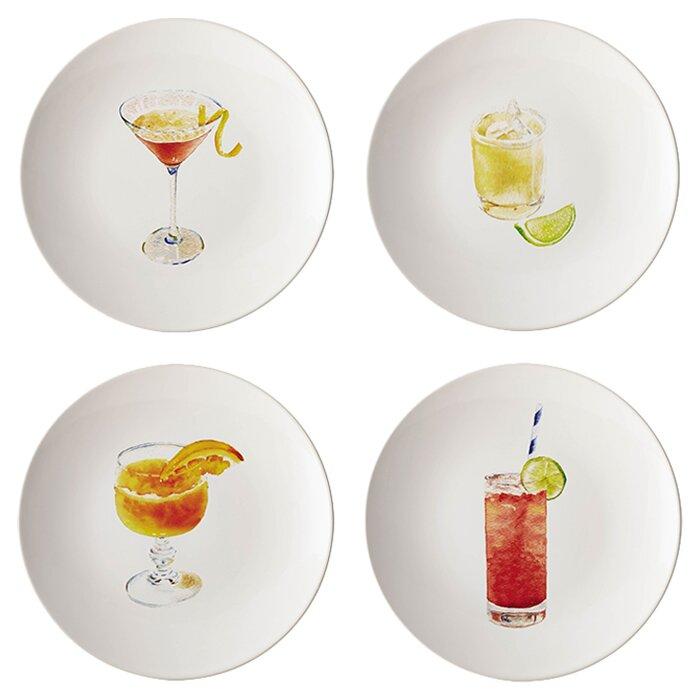 Rachel Ray Dinnerware Cocktails 8.25  Salad Plate  sc 1 st  Wayfair & Rachael Ray Rachel Ray Dinnerware Cocktails 8.25