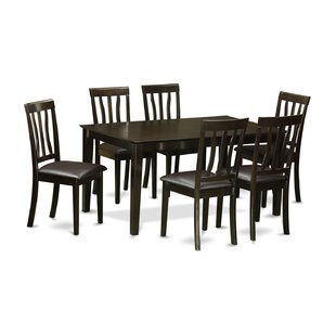 Capri 7 Piece Dining Set by Wooden Importers Designt