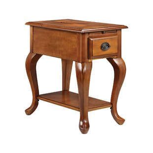 Miranda Chairside Table by Alcott Hill