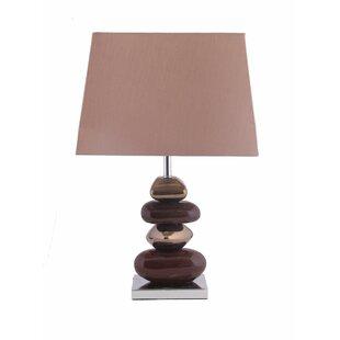 Pebble table lamp wayfair pebble 52cm table lamp aloadofball Images