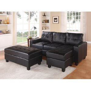 ACME Furniture Lyssa Reversible Sleeper Sectional