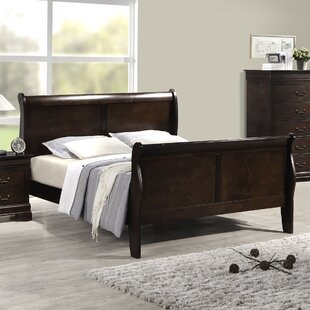 Sexton Sleigh Bed by Charlton Home 2019 Coupon