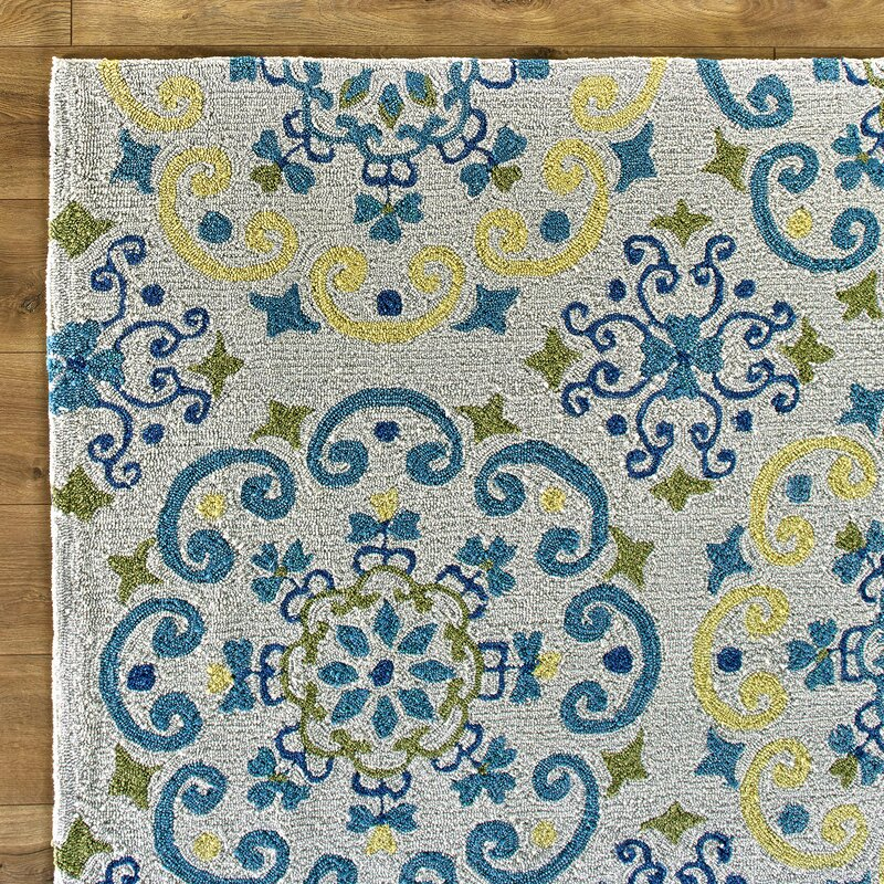 francesca moroccan ivory u0026 light blue area rug