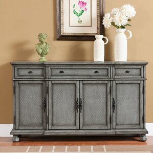 Giulia 3 Drawer Credenza by August Grove