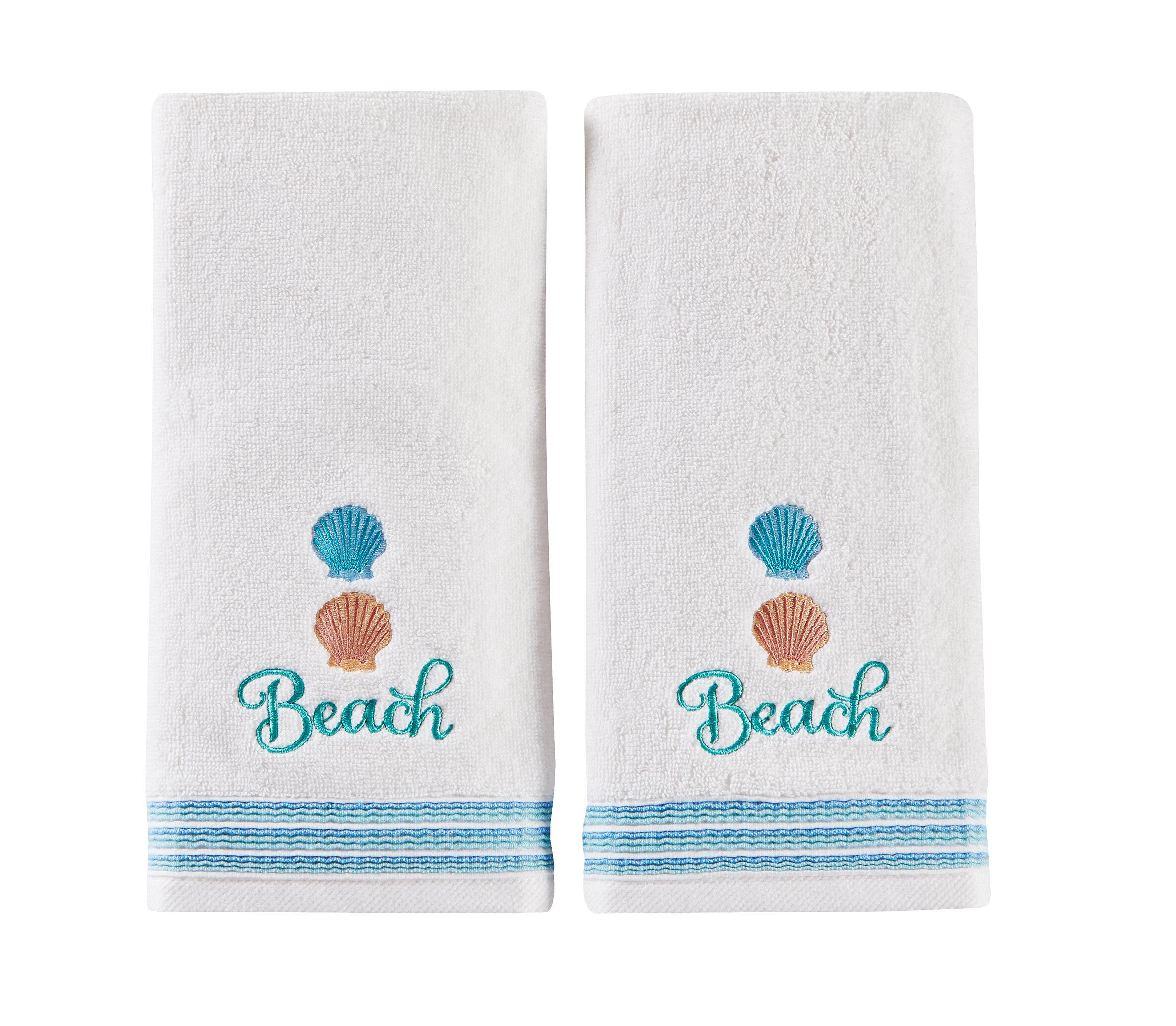 Highland Dunes Elisa 2 Piece 100 Cotton Hand Towel Set Reviews Wayfair