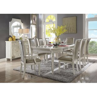 ba82bccb905 8 + Seat Glass Kitchen   Dining Tables You ll Love
