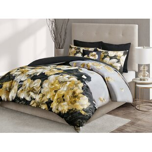 Casa Noir 3 Piece Cotton Duvet Cover Set