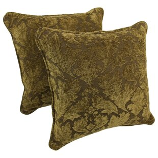 Yousef Chenille Throw Pillow (Set of 2)