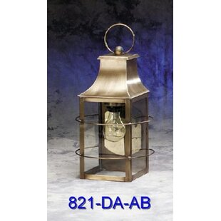 Compare 800 Series 1-Light Outdoor Wall Lantern By Brass Traditions