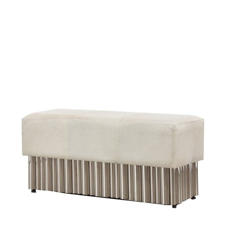 Mclin Genuine Leather Bench