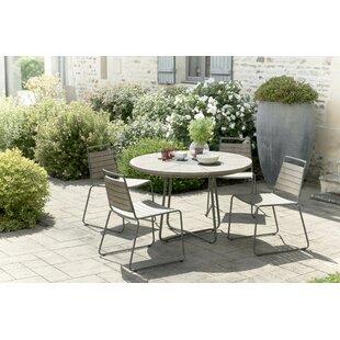 Worden Garden 4 Seater Dining Set Image