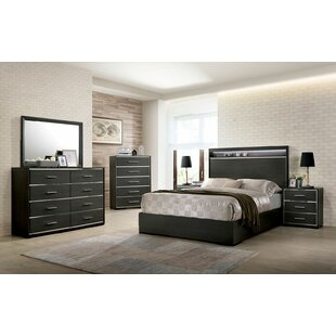 Marylie Panel Configurable Bedroom Set by Andrew Home Studio 2019 Coupon