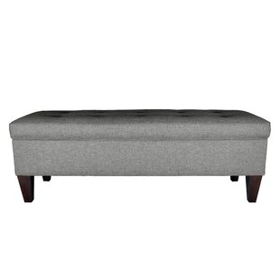 MJL Furniture Sand Upholstered Storage Be..