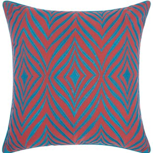 Dillsboro Wild Chevron Outdoor Acrylic Throw Pillow