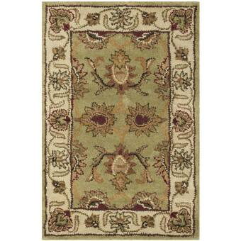 Safavieh Classic Oriental Handmade Tufted Wool Gold Red Area Rug Reviews Perigold