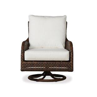 Lloyd Flanders Havana Swivel Glider Lounge Chair with Cushion