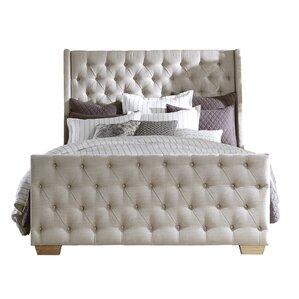 Elbert Upholstered Platform Bed by One Allium Way