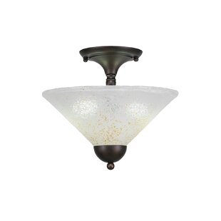 Moran 2-Light Semi Flush Mount..