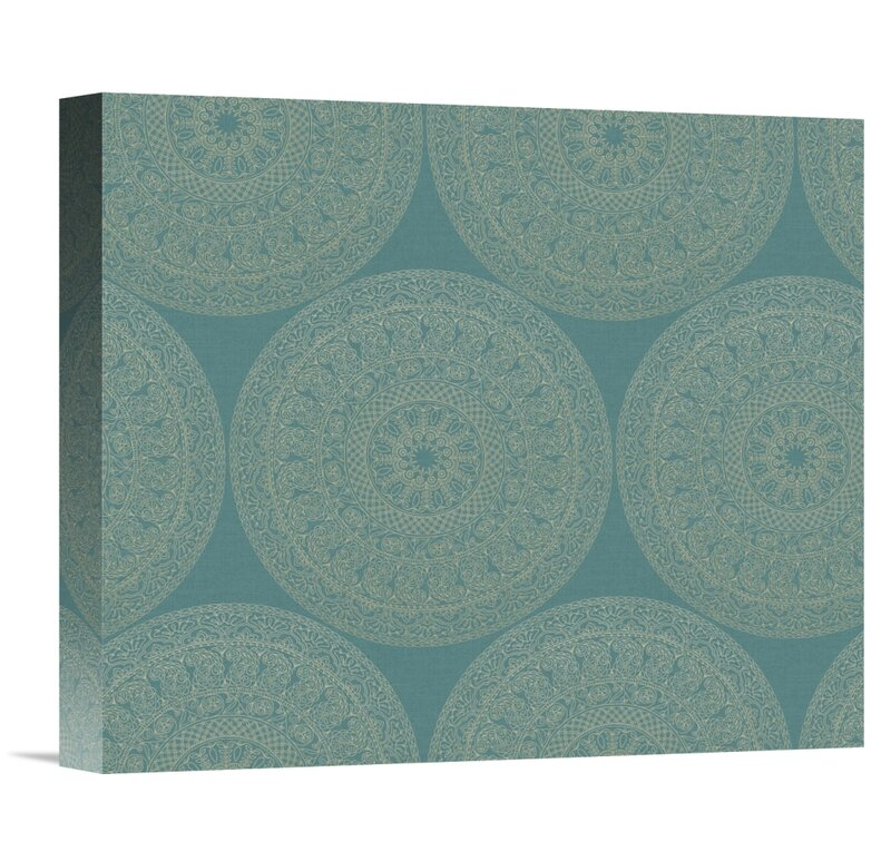 East Urban Home Mandala Road Pattern Ii Graphic Art Print Wayfair