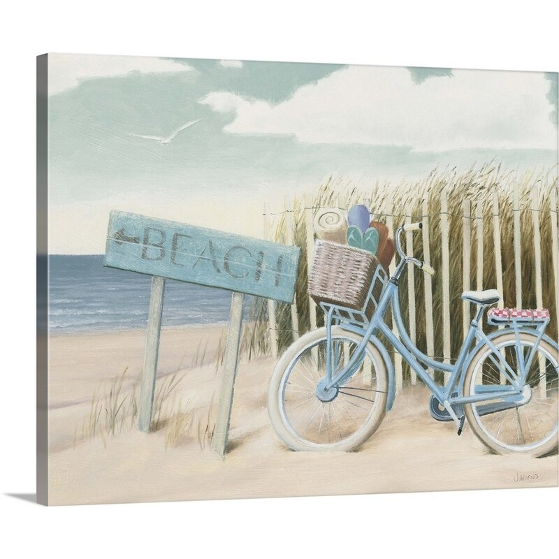 Beach Days V Giclee Stretched Canvas Artwork 30 x 30 Global Gallery James Wiens