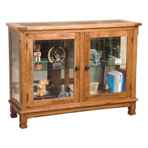 Fresno Console Curio Cabinet by Loon Peak