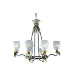 Zanin Lighting Inc. Parma 6-Light Shaded Chandelier