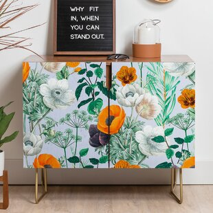 Wildflower Forest Sideboard by East Urban Home