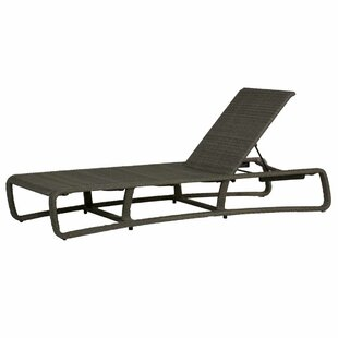 Summer Classics Delray Woven Reclining Chaise Lounge