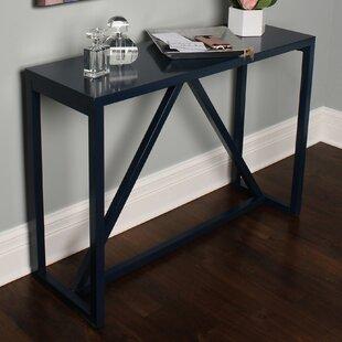 Gracie Oaks Dunstan Wood Console Table