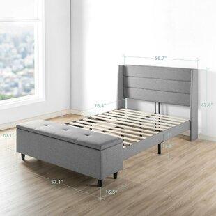Minatare Upholstered Storage Platform Bed
