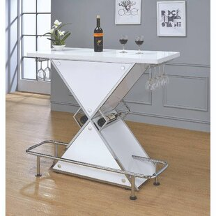 Cherrelle Bar Set with Wine Storage