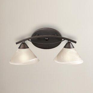 Harewood 2-Light Vanity Light by Red Barrel Studio